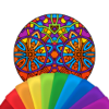 Mandalas para Colorir - Figuras para Pintar, Remedios para Ansiedade e Estress