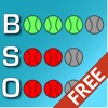 Ball Strike Clicker Free - Track the Count, Track Number of Outs, and Keep Score with this Simple Baseball Scoreboard Clicker App for Umpires and Fans