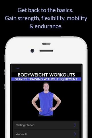 Bodyweight Workouts: Gravity Training Without Equipment screenshot 2