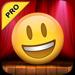 Talking Emoji Pro - Send Video Texting Emoticons using Voice Changer and Dash Emoji Geometry Stick Game