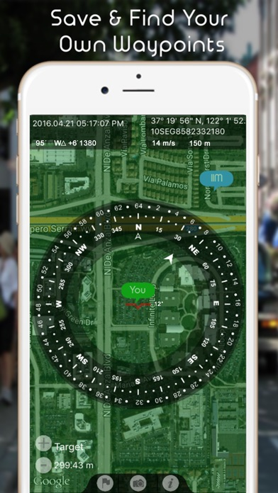 GPS Gyrocompass Waypo... screenshot1