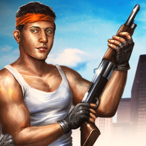 Grand City Crime : Real Theft sniper war Simulator iOS App