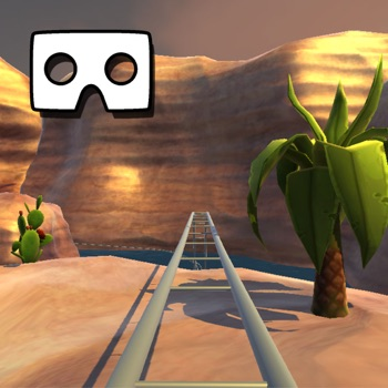 VR Canyon RollerCoaster Ride for iPhone