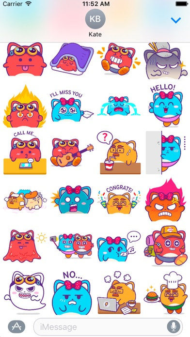 Screenshot of Cannon Land Family Stickers3