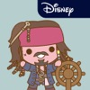 Disney Stickers: Pirates of the Caribbean 앱 아이콘 이미지