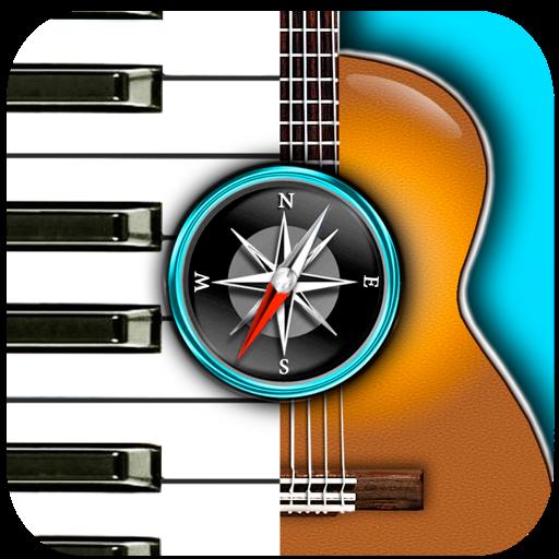 和弦罗盘:找到钢琴,吉他等各种不同乐器的和弦!