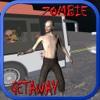 Bus driving getaway on Zombie highway apocalypse