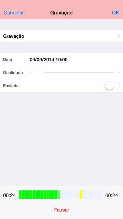 Captura de tela do iPhone 2