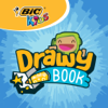 BIC Kids DrawyBook, animated drawings and story