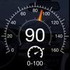 Спидометр GPS - проекция скорости и разгон до 100