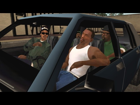 Grand Theft Auto: San Andreas для iPad