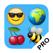 SMS Smileys - Emoji Stickers - PRO