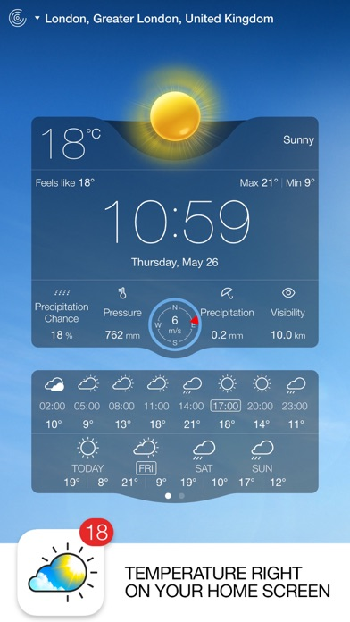Weather Live Reloaded Screenshot 1
