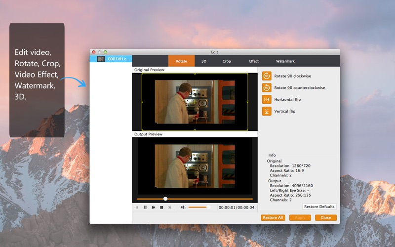 Video Converter Pro -Video in MP4/MP3 konvertieren Screenshot