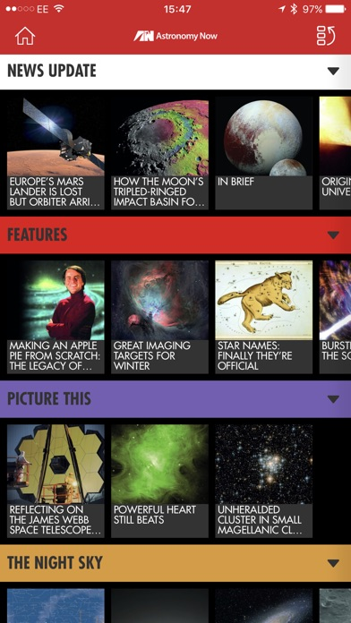 Astronomy Now Magazine review screenshots