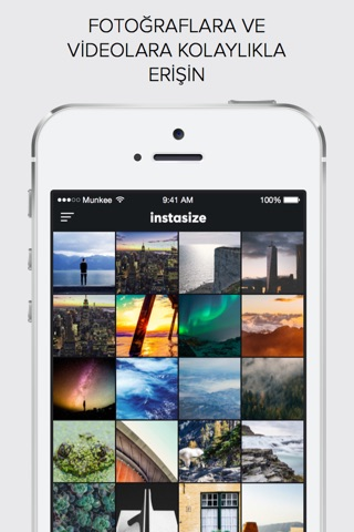 InstaSize Photo Picture Editor screenshot 1
