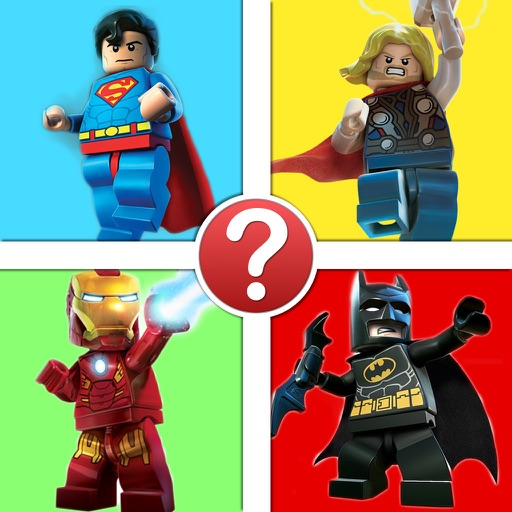 Minifigure Character Quiz - The Ultimate Lego Superhero Edition iOS App