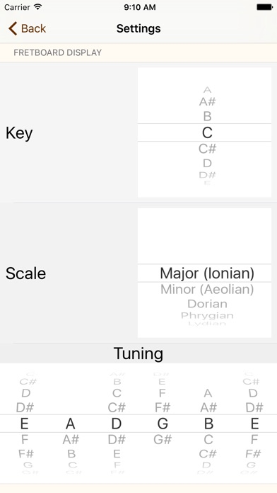 Scalegenius Scales For Alternate Guitar Tunings On The App Store