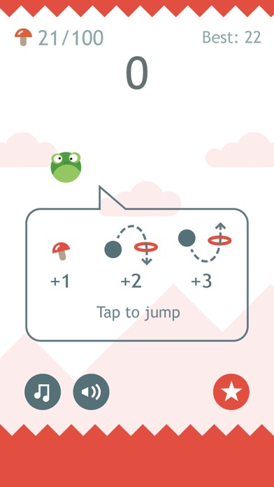 Screenshots of Hop Hop Hop for iPhone