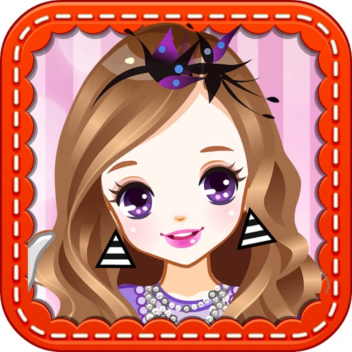 School Girl-Beauty Makeup Salon Icon