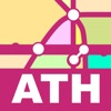 Athens Transport Map - Subway Map & Route Planne.