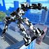 Hoverboard Futuristic Robot