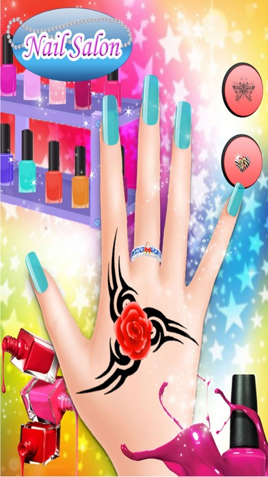 Christmas princess nail salon nail art games on the app store iphone screenshot 3 prinsesfo Gallery