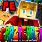 Crazy Craft PE for Minecraft Pocket Addons Edition icon