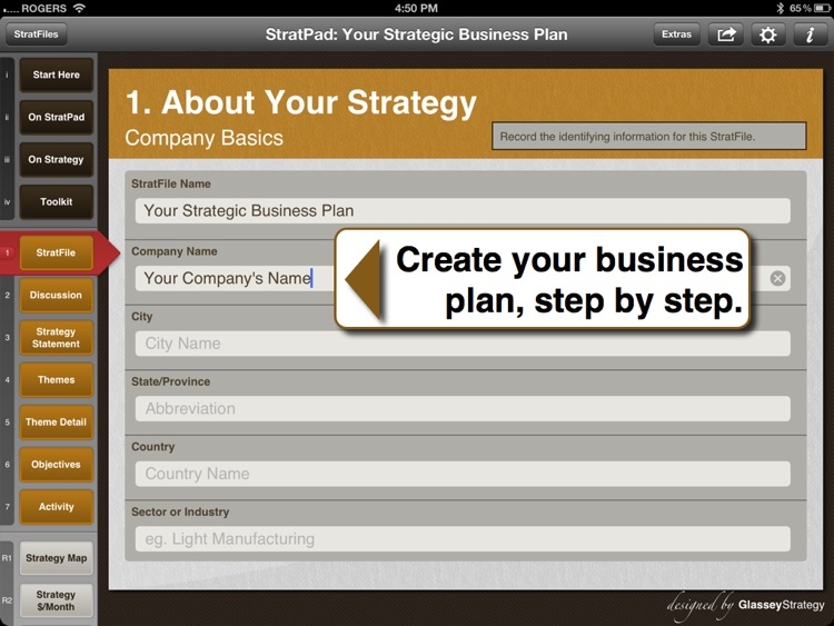 Stratpad Business Plan Writer By Glasseystrategy Stratpad Business Plan Writer