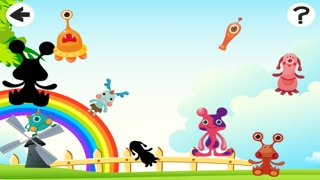 Screenshot of Attivo! Gioco Delle Ombre Per Bambini a Giocare e Imparare Con Simpatici Mostri1