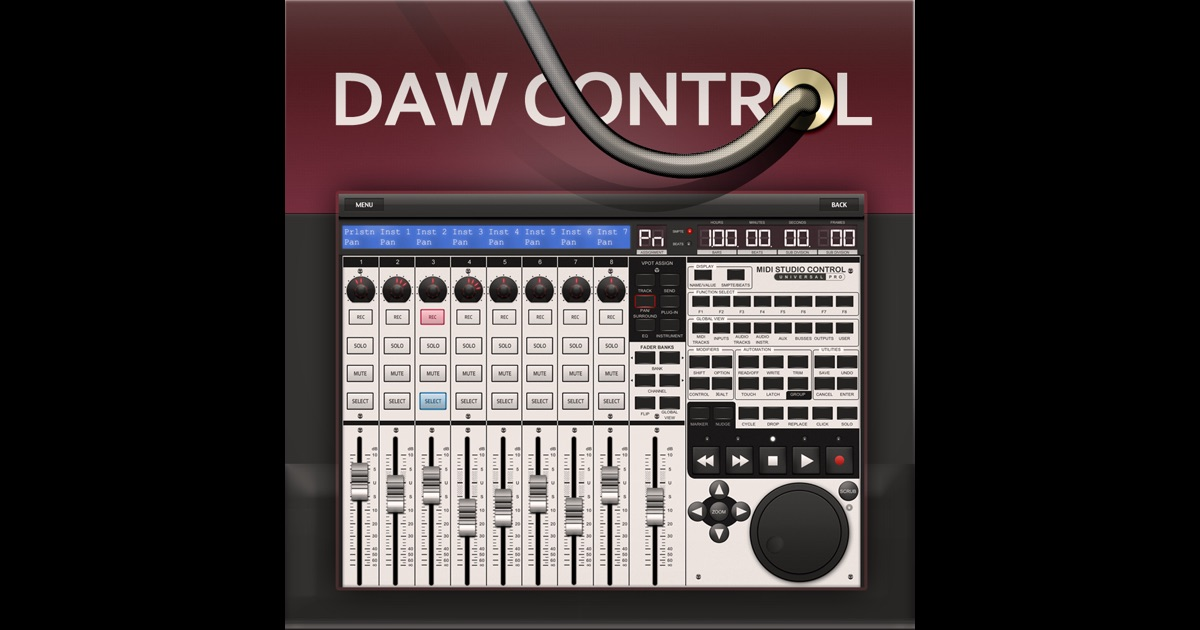 DAW Control on the App Store