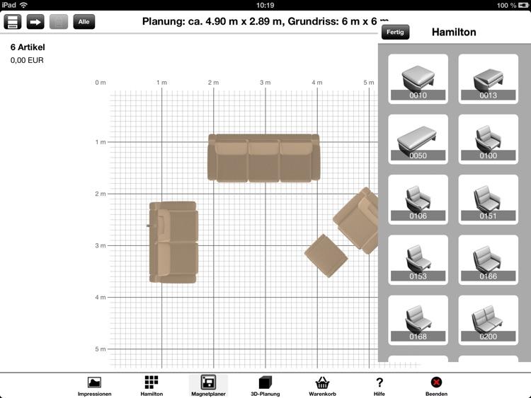 FM MUNZER Sofa Planungs-App by FM MUNZER Polstermöbel GmbH