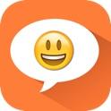 Stylish Emoji Chat Pro icon