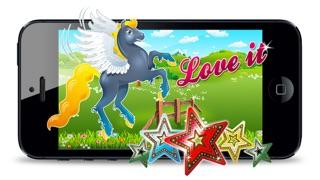 Screenshot von Pretty Little Pony Spiel - My Fun Nette Jumping Ausgabe1