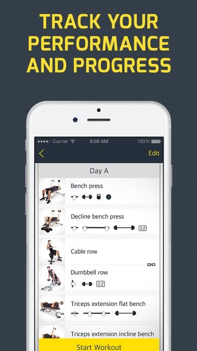 download Workout: Gym personal trainer & workout tracker appstore review
