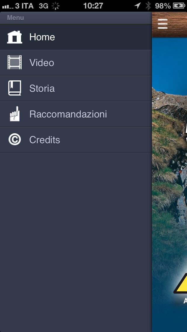 Screenshot of Alte Vie della Valle d'Aosta3
