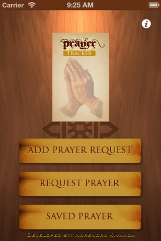 PrayerTracker screenshot 1