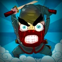 Angry Ninjas Jump Game Free icon