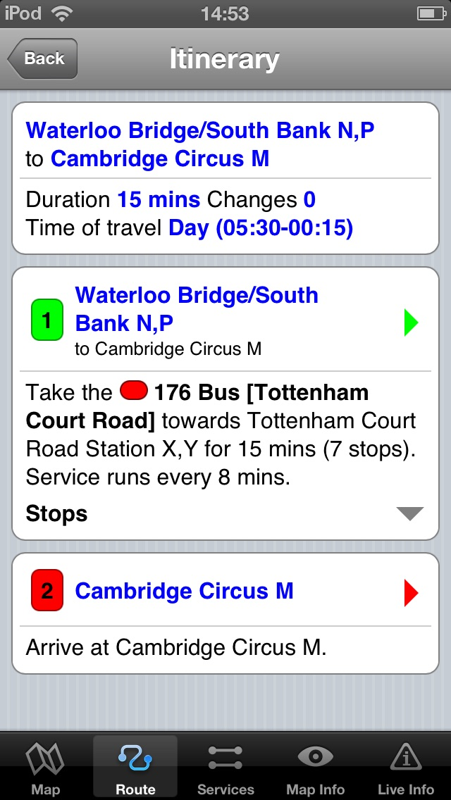 download London Bus Free - Map and route planner by Zuti apps 4