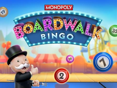 Screenshots of Boardwalk Bingo: A MONOPOLY Adventure for iPad