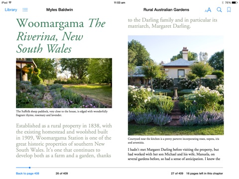 Rural australian gardens by myles baldwin on ibooks for Rural australian gardens