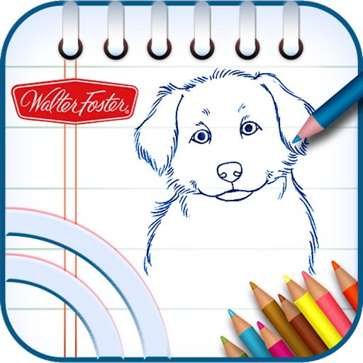 用iPad学画画:Kids! Learn to Draw by Walter Foster