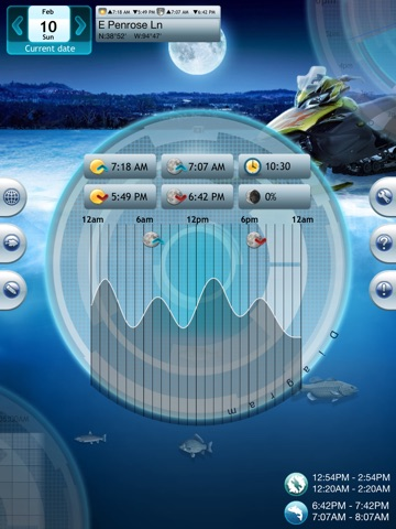 Screenshot #1 for Winter Fishing Deluxe