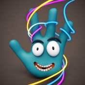 Magic Fingers Lite - Magical Kids Sparkling Doodle & Drawing App icon