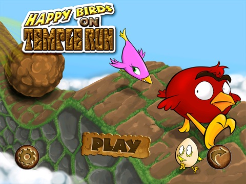Happy Birds On The Run HD - Cool Fun Adventure Arcade Game - FREE FOREVER screenshot 1
