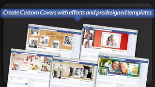 Screenshot #7 for Photo Covers for Facebook: Timeline Editor