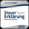 Steuer-Spar-Erklärung 2013 (AppStore Link)