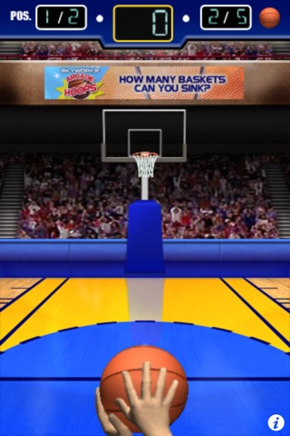 3 Point Hoops® Basketball Free screenshot 2