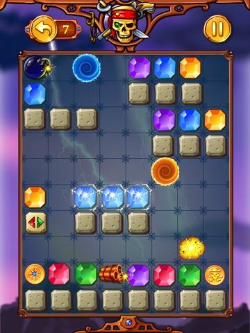 Screenshot #2 for Legend of Talisman: Match-3 Physics Puzzle Crush