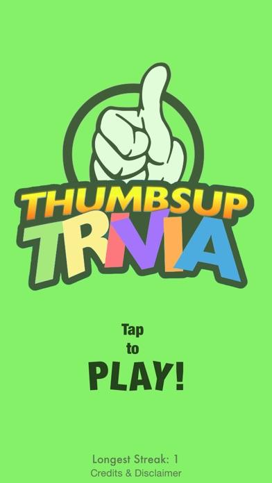 Thumbs Up Trivia Screenshot